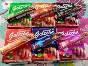 Хна для ногтей цветнаяGolecha