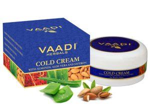 Крем зимний VAADI с миндальным маслом, алоэ вера и шафраном
