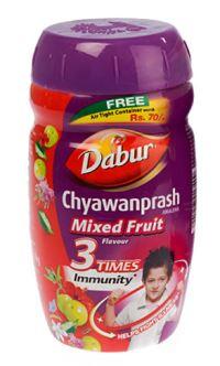 ЧаванпрашДабур Мультифрукт (Chyawanprash Mixed Fruit)
