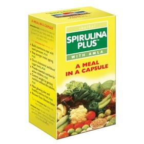 Спирулина плюс (Spirulina plus, Baidyanath), 60 капс.