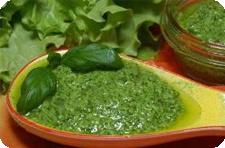 Свежая зелень соус