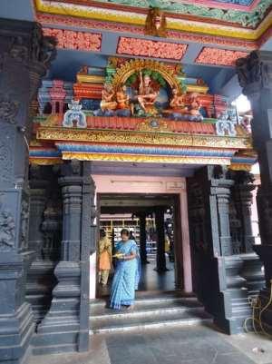 Йога в Индии, 22.01 - 1.02.2018, штат Керала, г. Варкала. Храм Аттукал Бхагавати