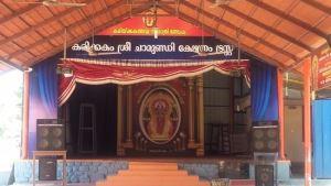 Йога в Индии, 22.01 - 1.02.2018, штат Керала, г. Варкала. Храм Кариккаком Деви
