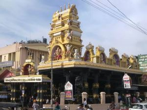 Йога в Индии, 22.01 - 1.02.2018, штат Керала, г. Варкала. Храм Пазхавангади Ганапати