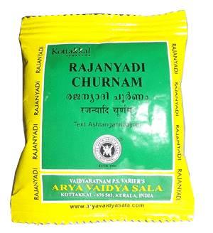 Раджаньяди чурна, Rajanyadi Churnam Kottakkal 10 гр