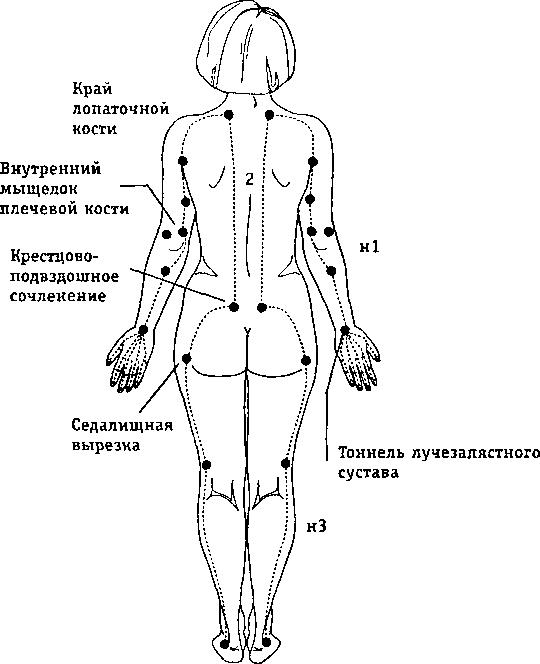 Меридианы в тайской медицине
