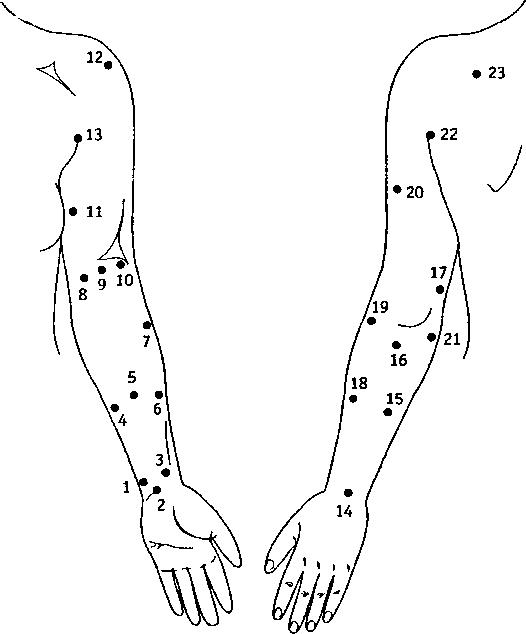 Акупрессура в тайскоммассаже