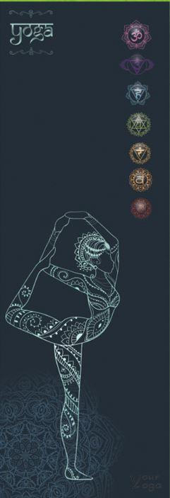 Коврик для йоги бренда «Your Yoga» — Harmon. Коврики для Йоги