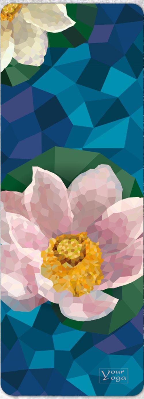 Коврик для йоги Lotus (микрофибра)
