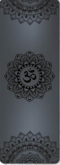 Коврики для Йоги. Премиум коврик для йоги «Mandala» black