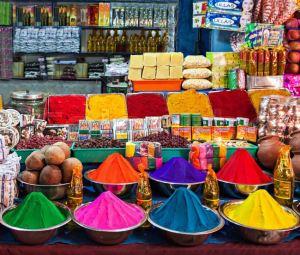 Ярмарка индийских товаров