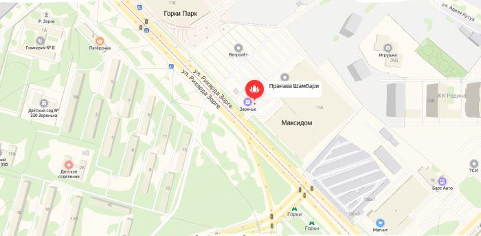 Аюрведа Казань карта