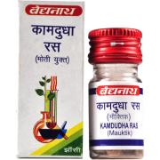 Камдудха Рас (Kamadudha Rasa), 25 таблеток