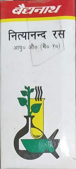 Нитьянанд рас 20 таб, Nityanand Ras Baidyanath